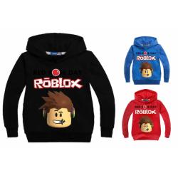 Roblox Hoodie / huvtröja Röd 128