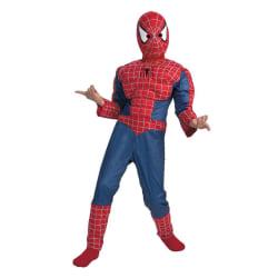 Spiderman / Spindelmannen lyx dress! Playsuit 95/110 cl