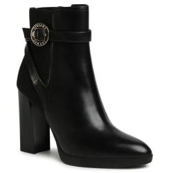 Boot High Heels Svart Black 3.5