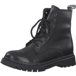 Booties Low Heels Svart Black 39