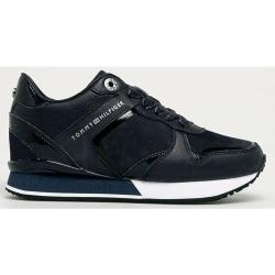 Dressy Wedge Mat Mix Sneaker Blue 38