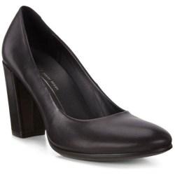 Form 75 Block High Heels Black 7.5