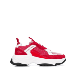 Marvin White Red Trainers White 10