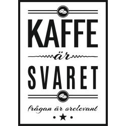 Poster kaffe