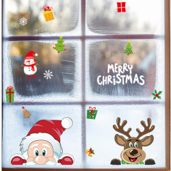 Christmas Window Sticker Glass Sticker Christmas Decoration A