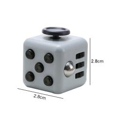 Fidget Cube 2 color Den Ultimata Stresskuben Toy  Gray&Black