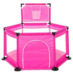 Tavalax Infant portable playground, rosa