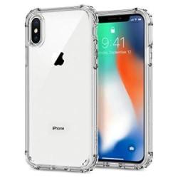 iPhone X/Xs Shockproof Skal  0.3mm TPU Transparent
