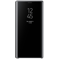 Samsung Galaxy Note 9 Clear View Standing Cover (Svart)
