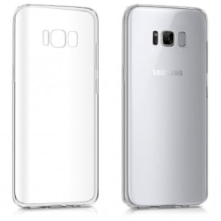 Samsung S8 Transparent Ultra Thin Silicone skal