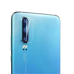 2 Pack Huawei P30 Bak kamera Skärmskydd Härdat glas Transparent