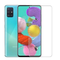2 Pack Samsung Galaxy A51 Härdat glas 3D Skärmskydd HD  Transparent
