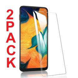 2 Pack Samsung Galaxy A70 Härdat glas 3D Skärmskydd HD  Transparent