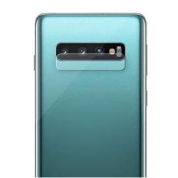 2 Pack Samsung Galaxy S10 Bak kamera Skärmskydd Härdat glas Transparent