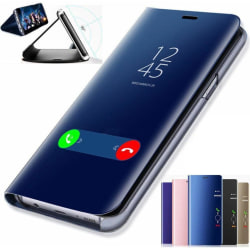 Samsung Galaxy S20 Plus Fodral Spegel Clear View  Svart