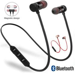 X6 Magnetiska Vattentät Bluetooth Sporthörlurar med mikrofon Svart