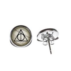 Örhängen Rostfritt Deathly Hallows Dödsrelikerna Harry Potter