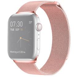 Armband för Apple Watch 38mm / 40mm - Kedja Magnetisk Rosa