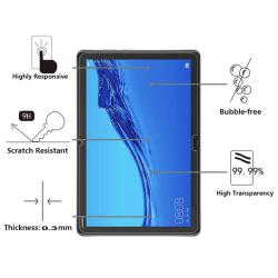 Displayskydd 9H för Huawei Tab MediaPadM5 lite 10.1