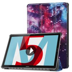Fodral för Huawei MediaPad M5 10.8 - Rymdmönster