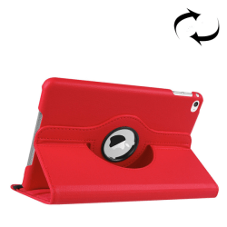 Fodral för iPad mini 4 - Roterbart (Röd)