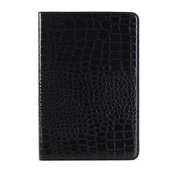 Fodral iPad mini 4 - Krokodilmönster svart