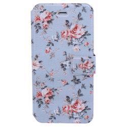Fodral iPhone 6/6S - Blommor blå