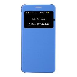 Fodral iPhone 7 - Klockfunktion (Blå)
