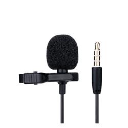 JJC Lavalier Mikrofon - För SmartPhones/Surfplattor/Datorer