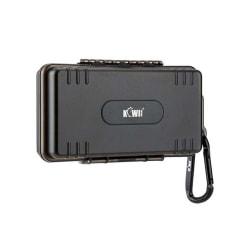 Kiwifotos Batteri & minneskortsfodral universal