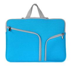 Laptopväska Macbook Air 13.3-tum - Dragkedja blå