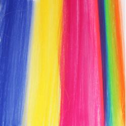 Löshår - Slinga blandade färger