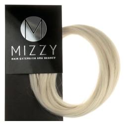 Mizzy #1001B Blond - Premium äkta hår remy microringar