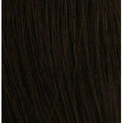Mizzy #2 Mörkbrun - Premium äkta löshår remy tejp