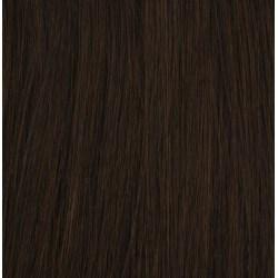 #3 Mörkbrun - Premium äkta löshår remy nagelslingor