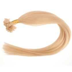 Mizzy Original Äkta hår nagelslingor - Honungsblond #20