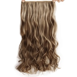 Mizzy löshår 5 Clip on - Slingat blond & brun #12H613