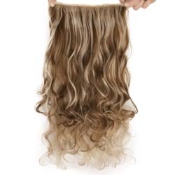 Mizzy löshår 5 Clip on - Slingat blond & brun #6PH613