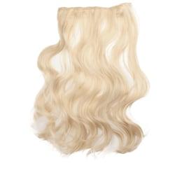 Mizzy löshår lockigt 5 Clip on - Blond #613