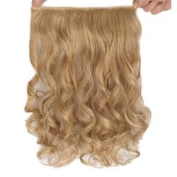 Mizzy löshår lockigt 5 Clip on - Blond&Mörkblond #F16/22