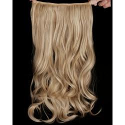 Mizzy Löshår lockigt 5 Clip on - Slingat blond #16H613