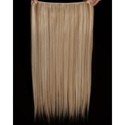 Mizzy löshår rakt 5 Clip on - Blond & Ljusbrun #F16/613