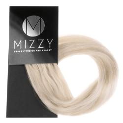 Mizzy Premium Single Drawn äkta hår microringar #60 40cm