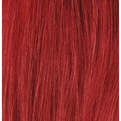 Mizzy Premium Single Drawn äkta hår microringar #RED 50cm