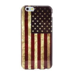 Mjukskal iPhone 6/6S - USA:s flagga