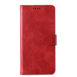 Plånboksfodral för Alcatel 1X (2019) - Röd