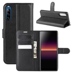 Plånboksfodral för Sony Xperia L4 - Svart