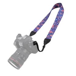 Puluz Kamerarem - Multifärgat retro mönster blommor