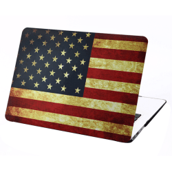 Skal Macbook Air 13.3-tum - USA:s flagga