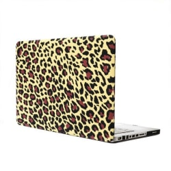 Skal Macbook Pro 13.3-tum - Leopardmönster brun Brun